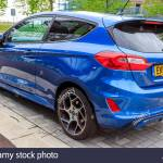 Ford Fiesta Mk 8 St2 In Performance Blue 2019 Stock Photo Alamy