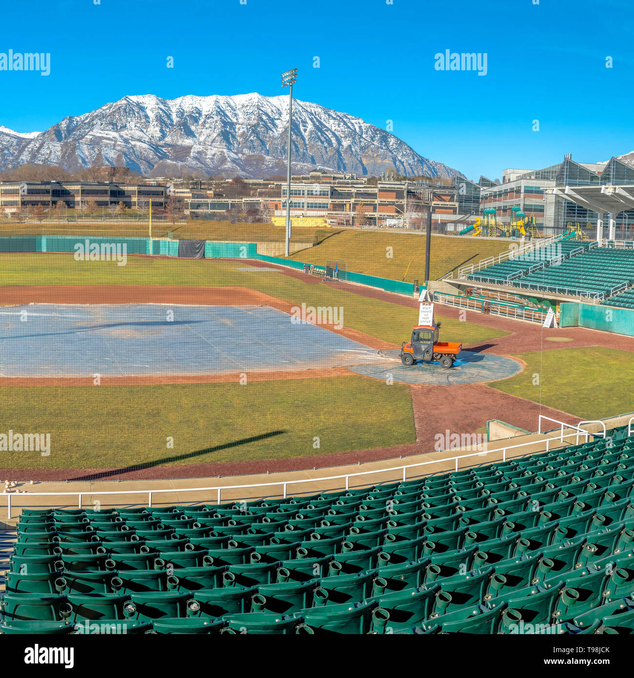 Baseball Stadium Seating Stock Photos Amp Baseball Stadium Seating Stock Images