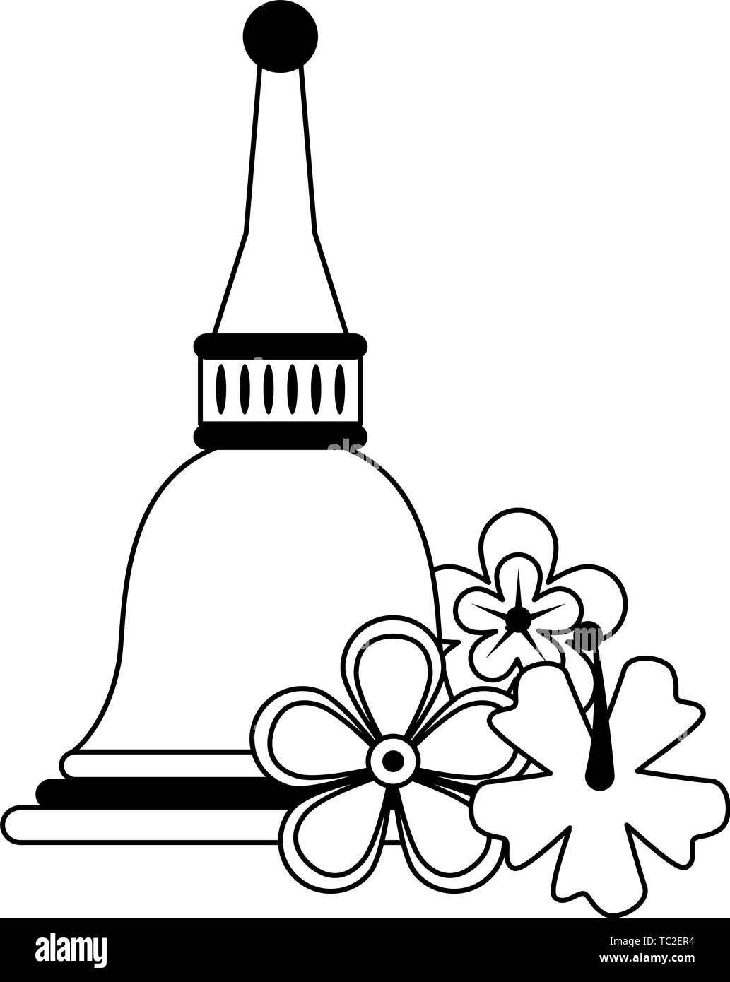 Cartoon Bell Black And White Stock Photos Amp Images