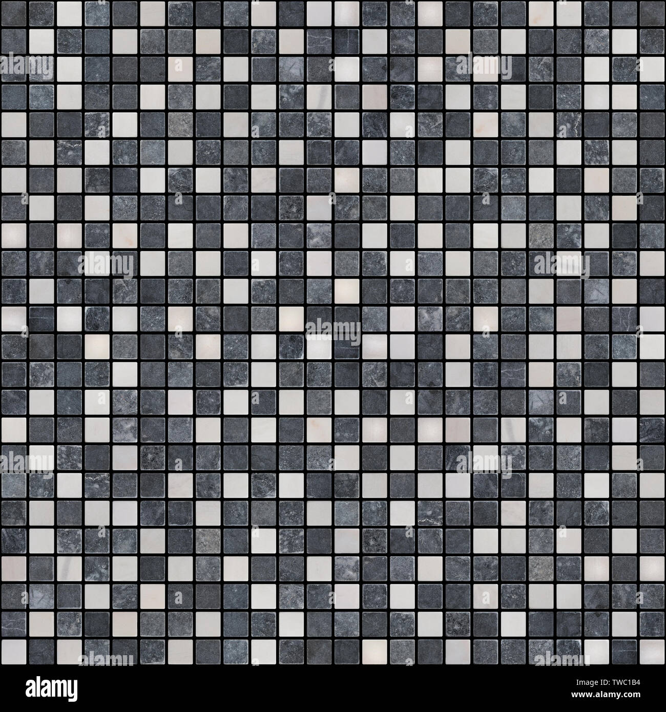 https www alamy com a small square tile of black and white color is laid out in geometric order background or texture image256576072 html