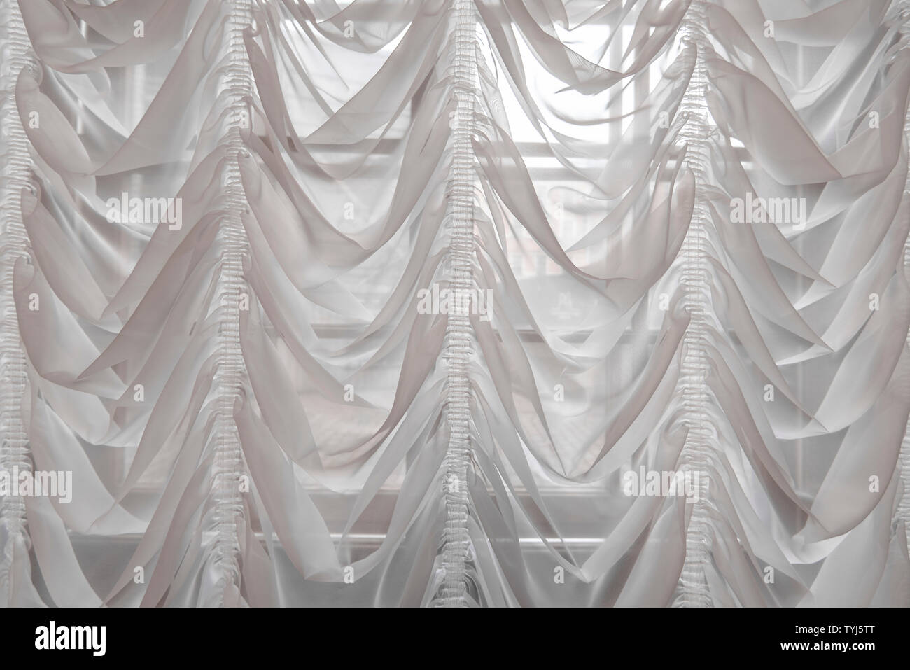 https www alamy com white curtains as interior of luxury hall background or fabric texture image257940616 html
