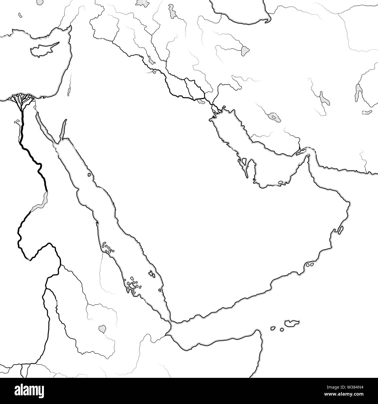 Blank Map Of Ancient Egypt And Mesopotamia