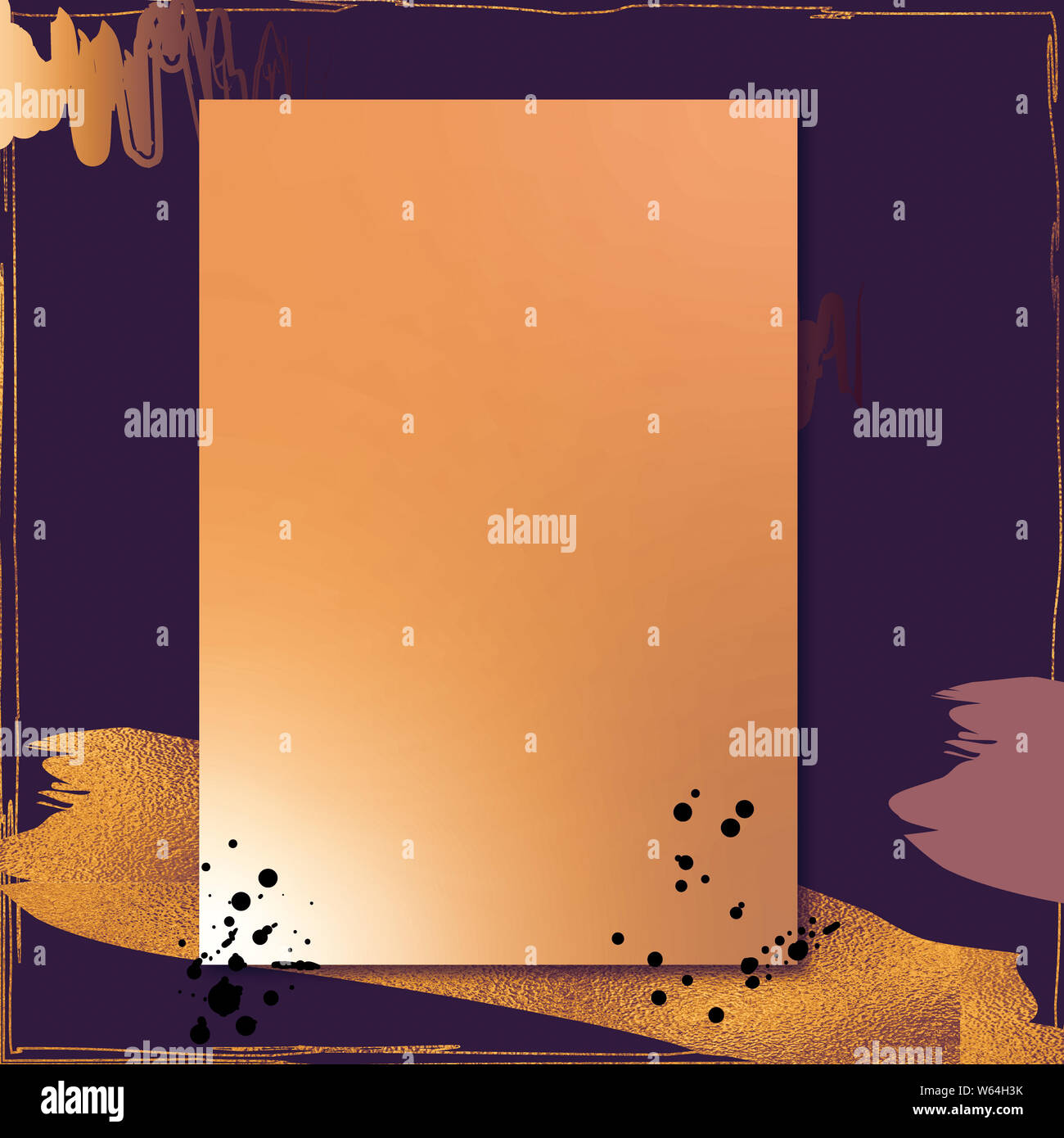https www alamy com luxury golden frame wedding ornament templates wedding invitation background abstract style vintage card good for greetings wishes cards craft image261944695 html