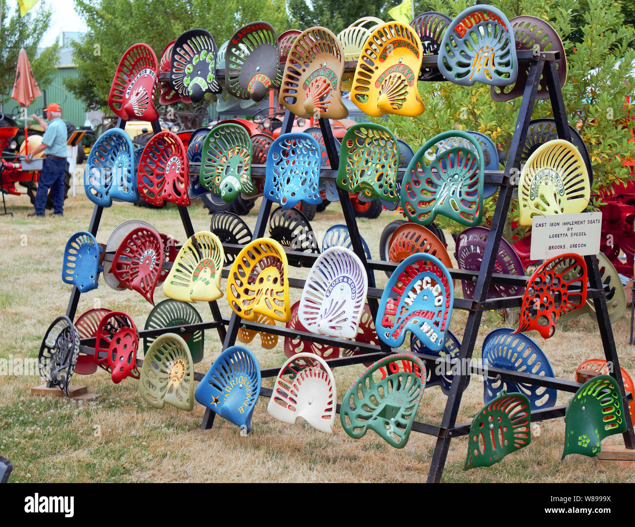 Tractor Seats High Resolution Stock Photography And Images Alamy