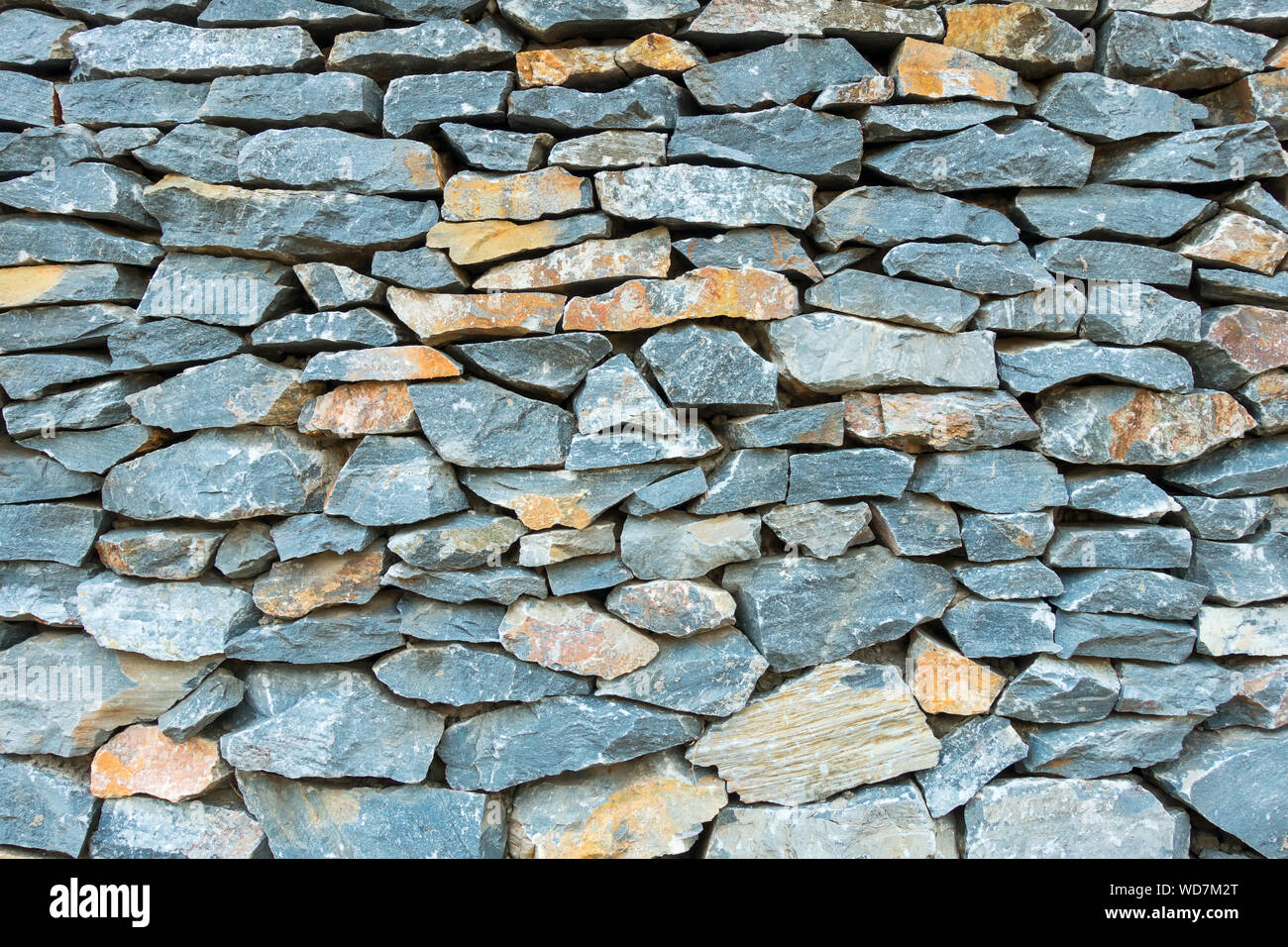 Abstract Stone Texture Background Of Walling Home