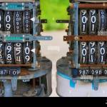 Close Up Of The Inside Of An Older Gas Pump At An Abandoned Gas Station In Rural Tennessee Stock Photo Alamy