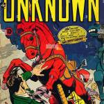 Vintage Comic Book Cover Artwork Stock Photo Alamy