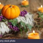 Herbstdekoration Stock Photo Alamy