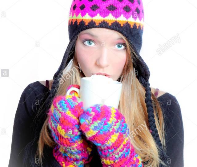Drink Drinking Bibs Winter Hot Teenager Girl Girls Woman Cup Tea