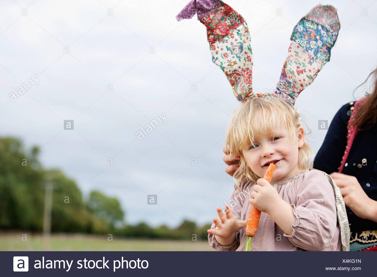 Children Easter Bunny Stock Photos Amp Children Easter Bunny