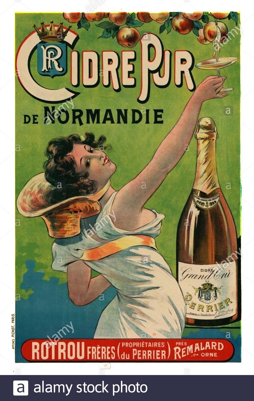 art deco poster champagne stockfotos