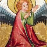 Bildende Kunst Sakrale Kunst Engel Betender Engel Malerei Deutschland Ca 1330 Ol Auf Holz Bayerisches Nationalmuseum Seine Stockfotografie Alamy