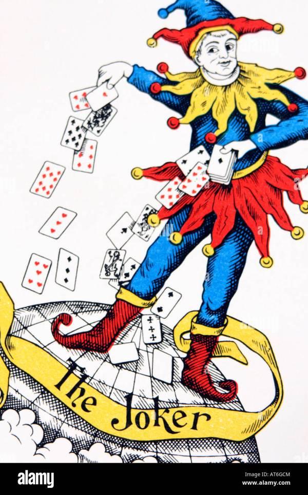 Joker-Karte, close-up Stockfoto, Bild: 16218643 - Alamy
