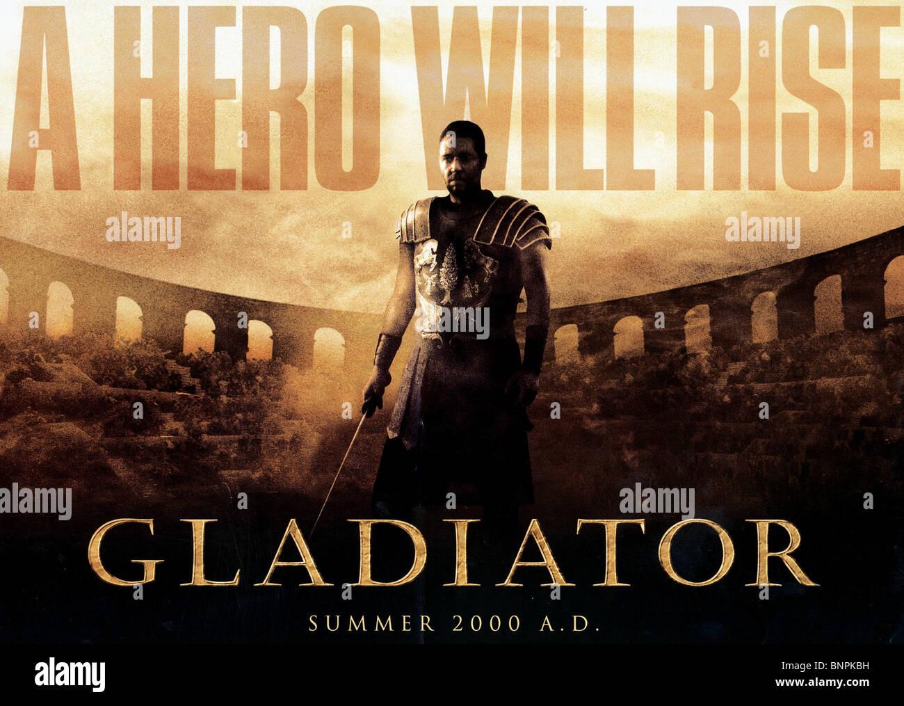 gladiator film poster stockfotos und
