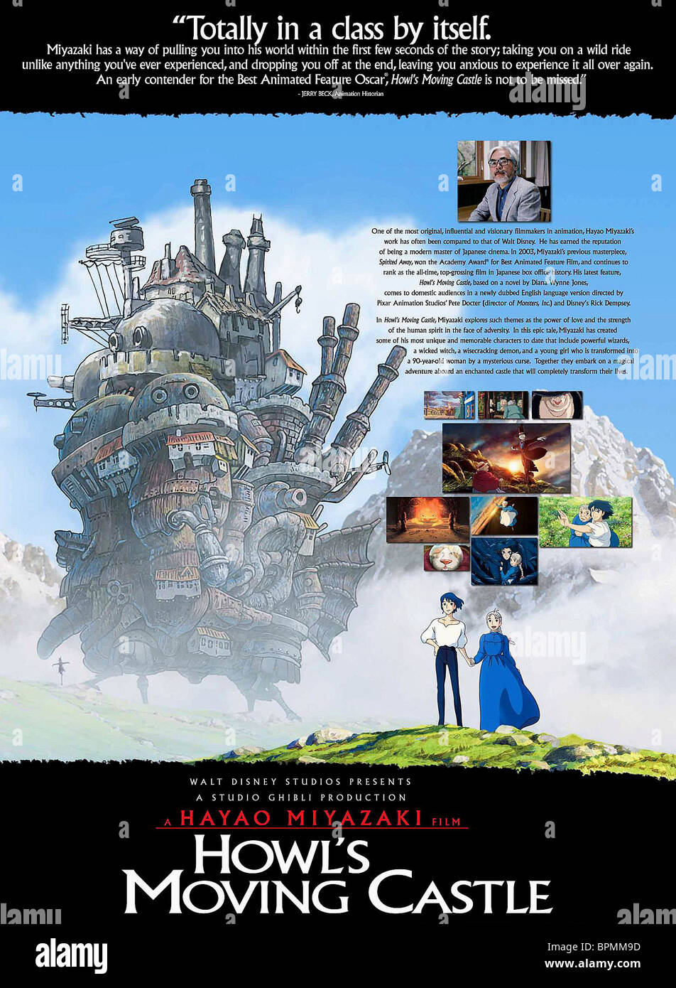 https www alamy de fotos bilder the castle film title howls moving castle html