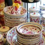 Usa Virginia Va Middleburg Loudon County Shopping Creme De La Creme Italienische Keramik Keramik Geschirr Stockfotografie Alamy