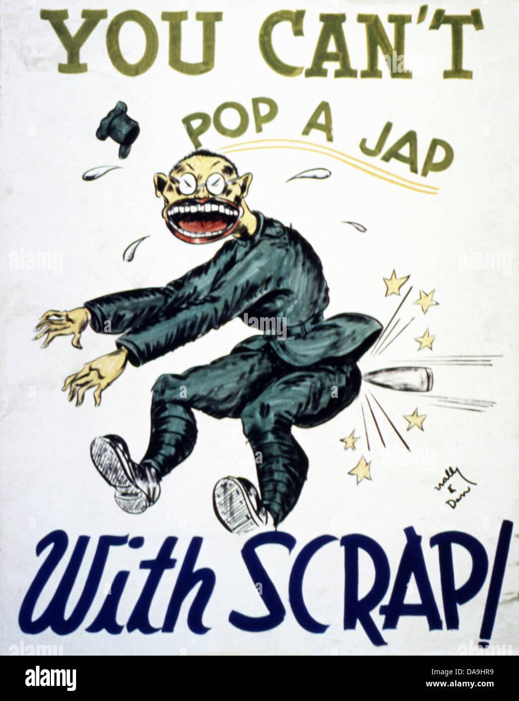 Japanese Propaganda Poster Stockfotos Amp Japanese