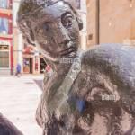 Abstrakte Skulptur Einer Frau Stockfotografie Alamy