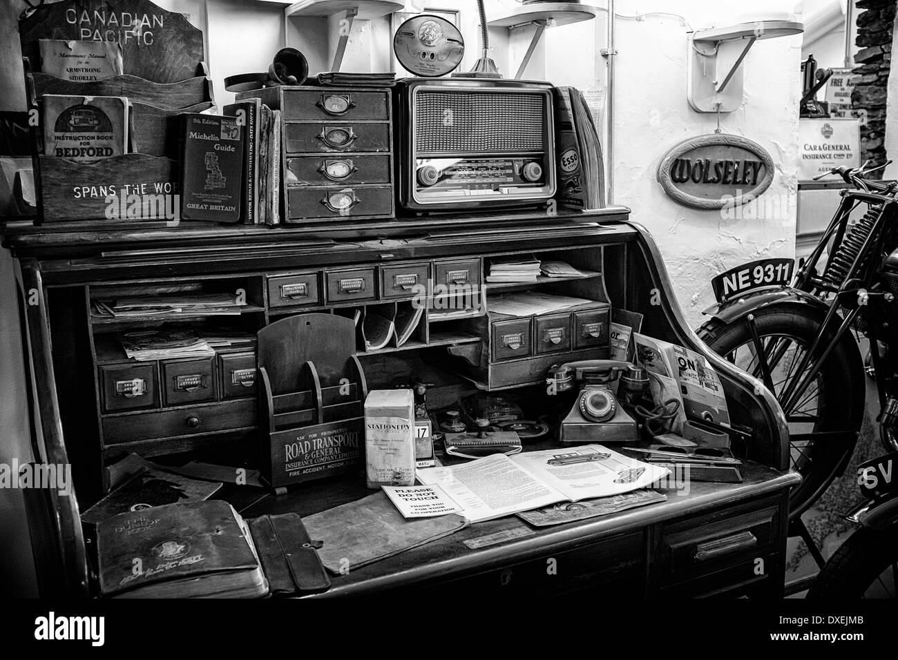 ein anfang 1920 garage buro
