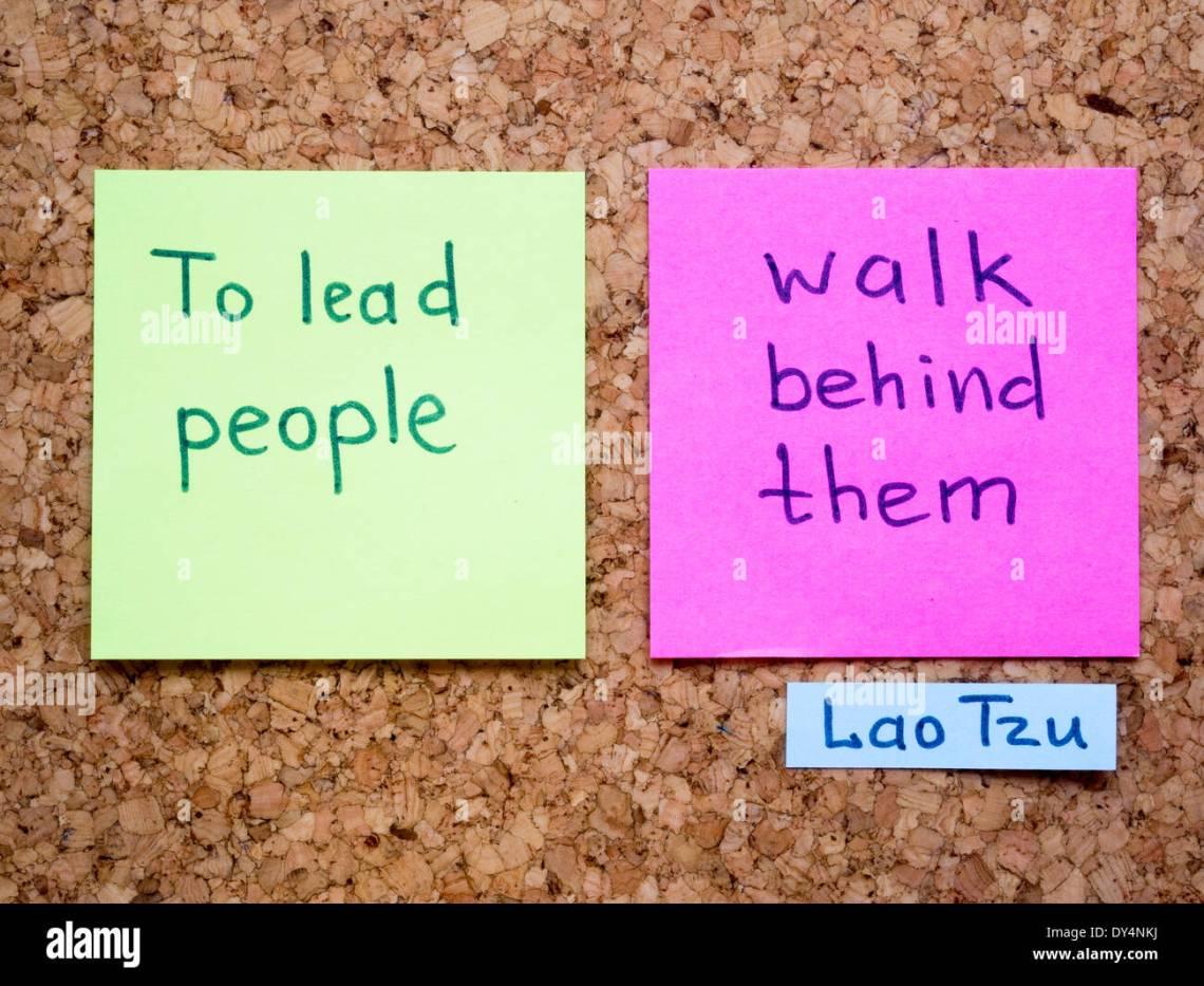 Beruhmte Lao Tzu Zitat Interpretation Mit Aufkleber Hinweise Zur Pinnwand