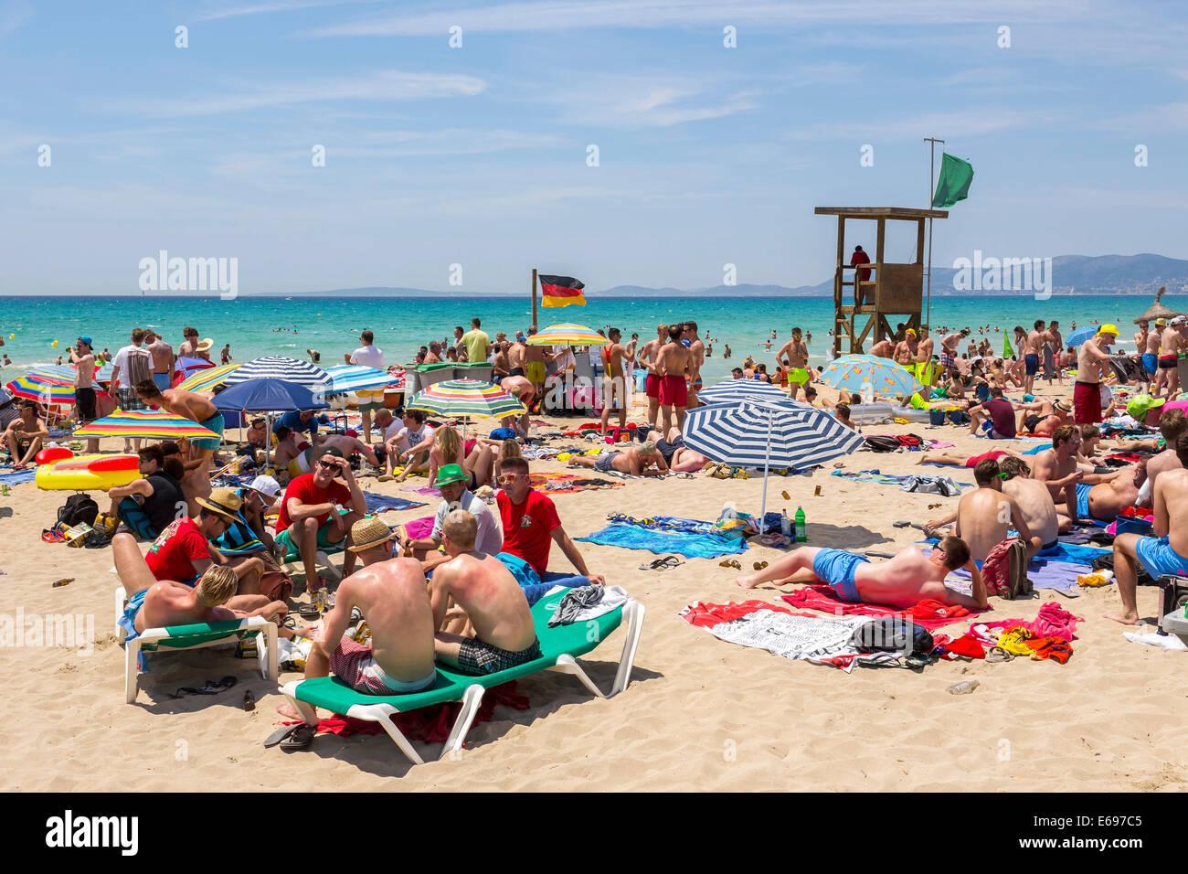 playa de palma bucht