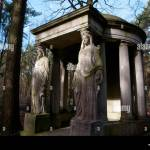 Stein Engel Skulpturen Auf Grossen Grab Friedhof Stahnsdorf Bei Berlin Stockfotografie Alamy