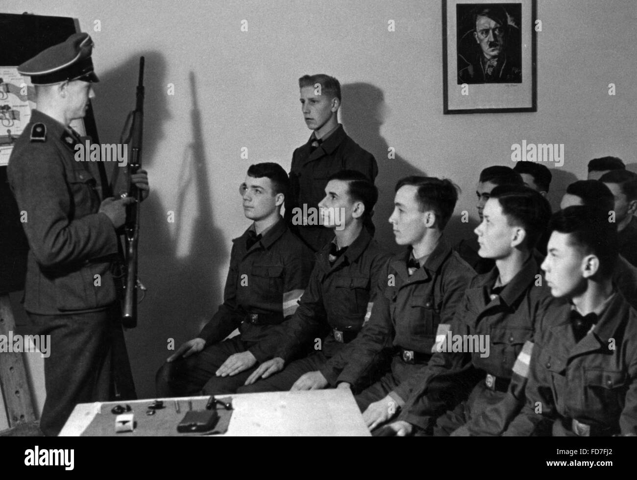A Waffen Ss Officer Stockfotos & A Waffen Ss Officer