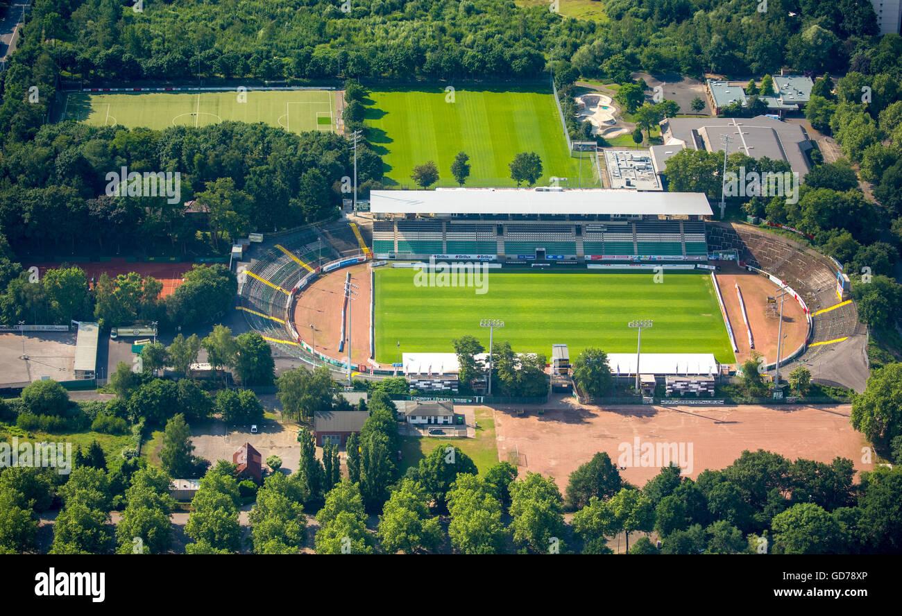 Aufnahmen der ausschreitungen im stadion. Luftaufnahme, Stadion Preußen Münster, SC Preussen Münster