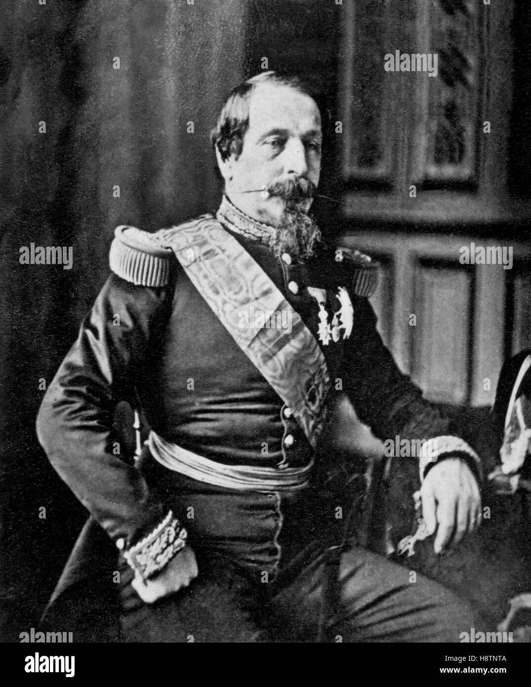 kaiser napoleon iii stockfotografie alamy