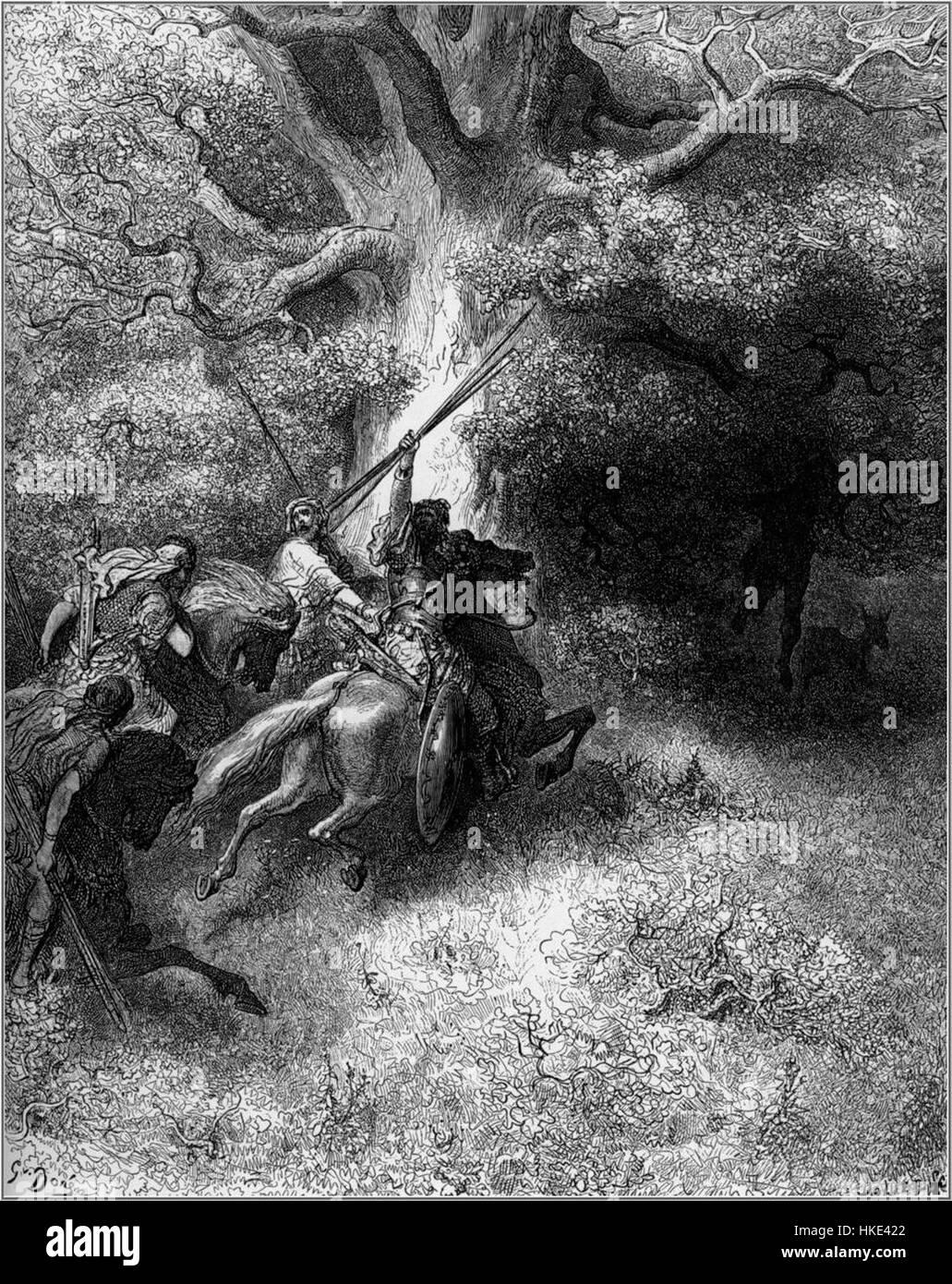 Gustave Dore Bibel Tod Von Absalom