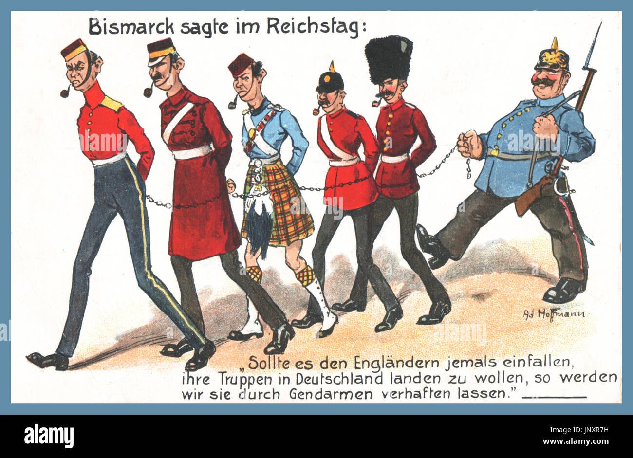 Ww1 German Propaganda Postkarte Bismarck Sagte Im Reichstag Bismarck Sagt Im Reichstag