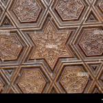 Osmanische Turkische Kunst Mit Geometrischen Mustern Auf Oberflachen Stockfotografie Alamy