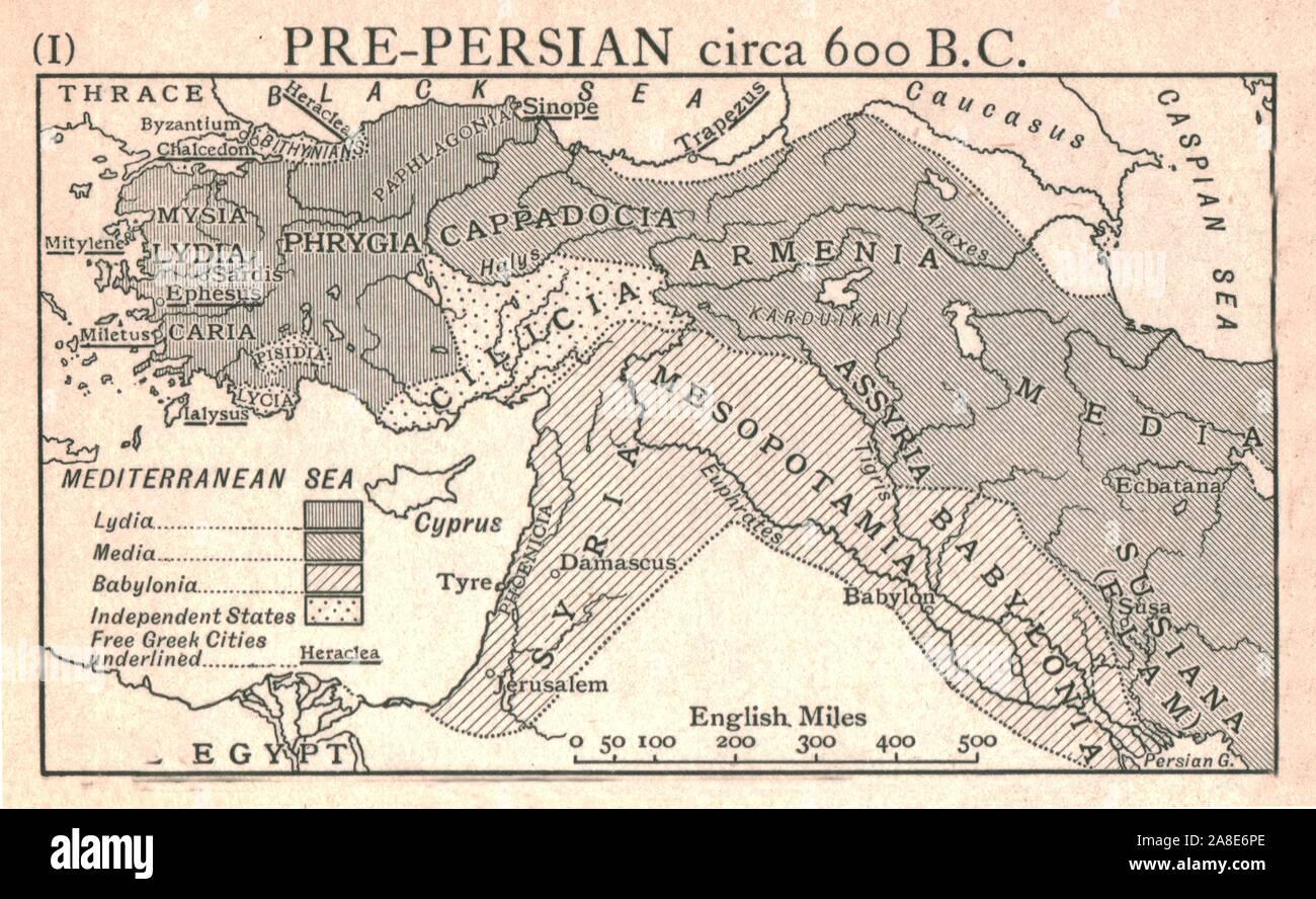 Ancient Mesopotamia Map Fotos E Imagenes De Stock