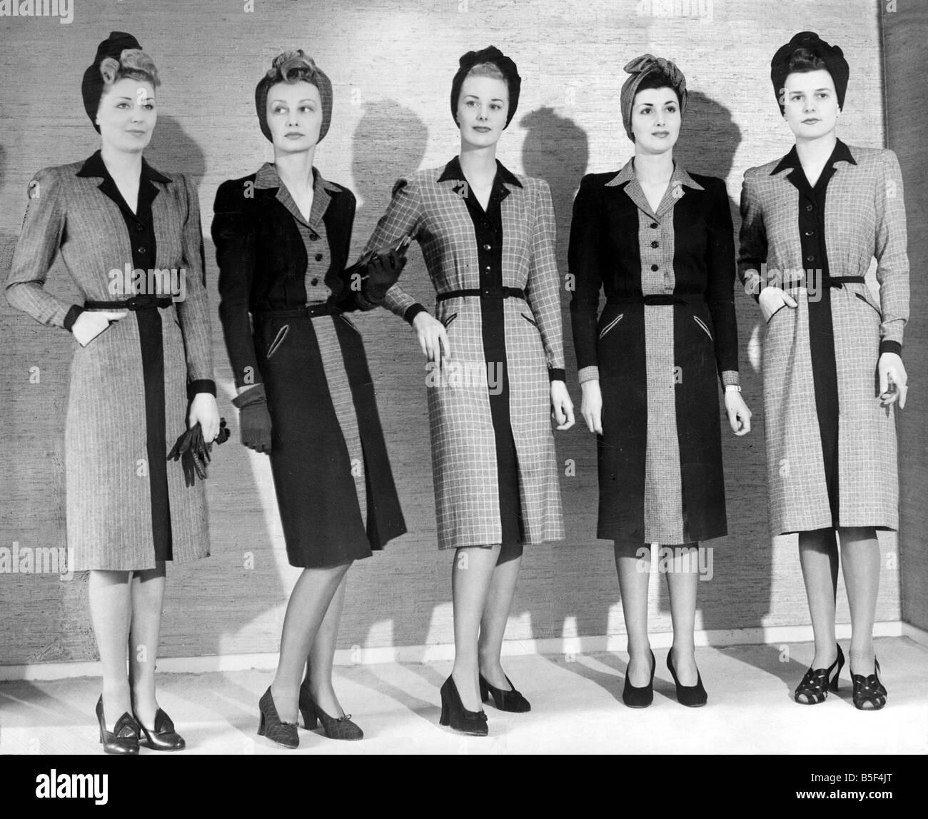 Modelos Luciendo Vestidos Ropa De Mujer 15 De Mayo De