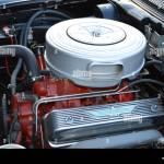 Un 1957 Ford Fairlane 500 Thunderbird Motor Fotografia De Stock Alamy