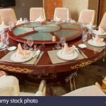 Round Table Chinese Restaurant Fotos E Imagenes De Stock Alamy