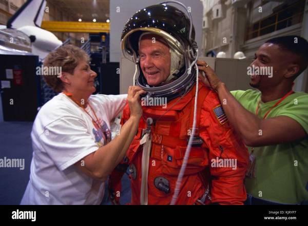 Nasa Sts 95 Mission Prime Crew Im225genes De Stock Nasa Sts 95 Mission Prime Crew