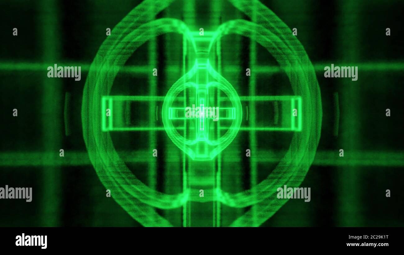 https www alamyimages fr vintage vert sainte croix chretienne futuriste et le rendu 3d fond ecran image362859556 html