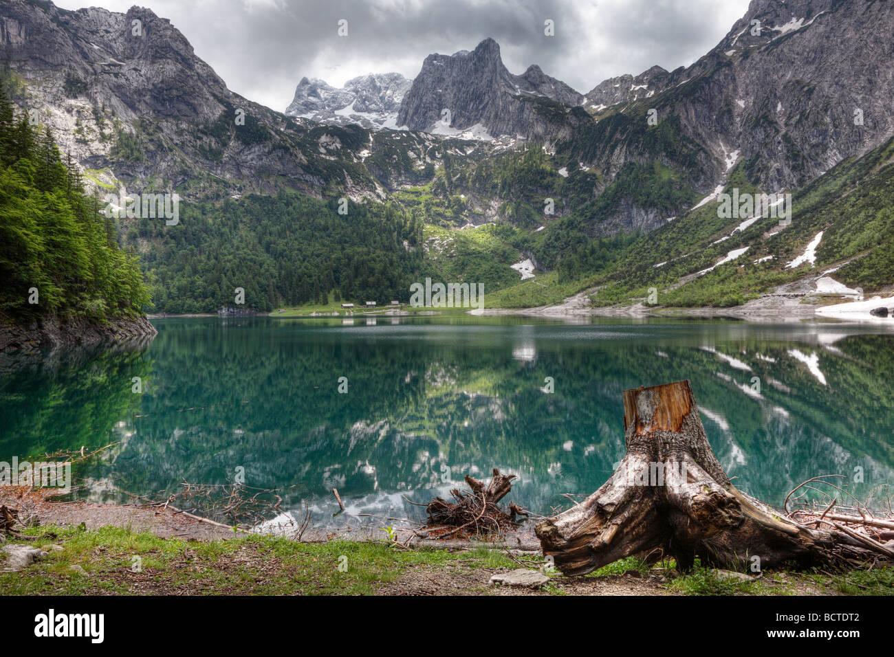ferienwohnungen hillbrand lac gosausee dachstein dachsteingebirge montagnes region du salzkammergut haute autriche autriche europe