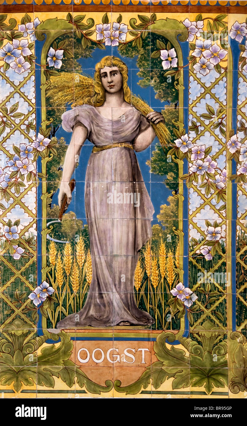 https www alamyimages fr photo image pays bas peinture art deco nouveau femme harvest bakery 930 31549414 html