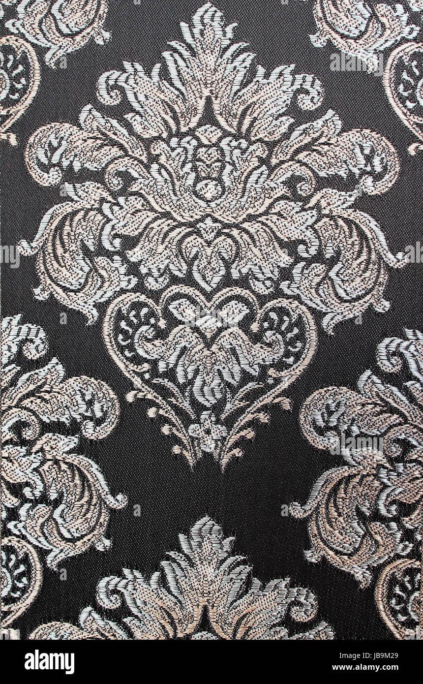 https www alamyimages fr photo image un tissu d ameublement en damas un modele vintage 144657473 html