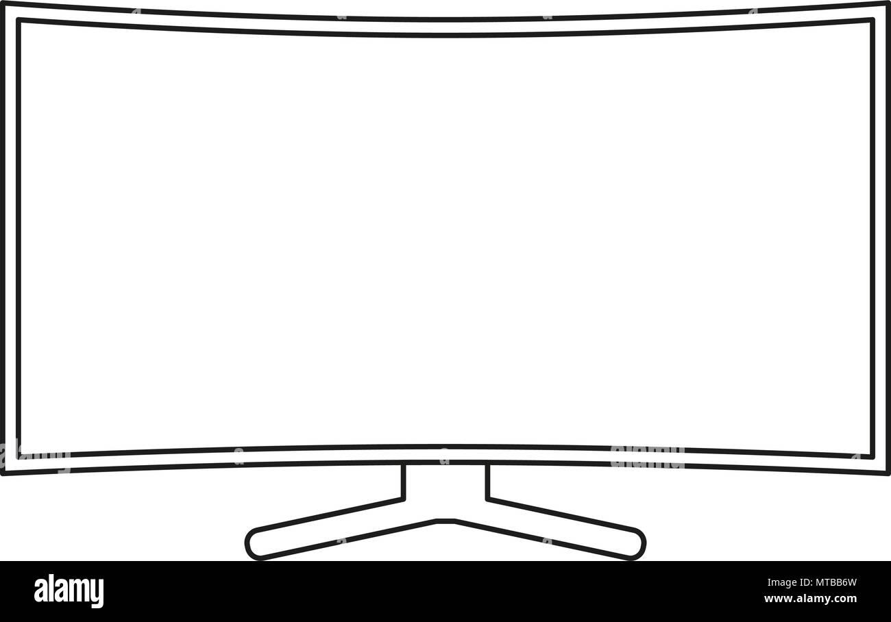 https www alamyimages fr les dessins au trait noir et blanc tv hd image187105713 html