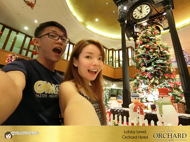 Hotel Christmas buffet Orchard Hotel Orchard Cafe Peps Goh Tiffany Yong