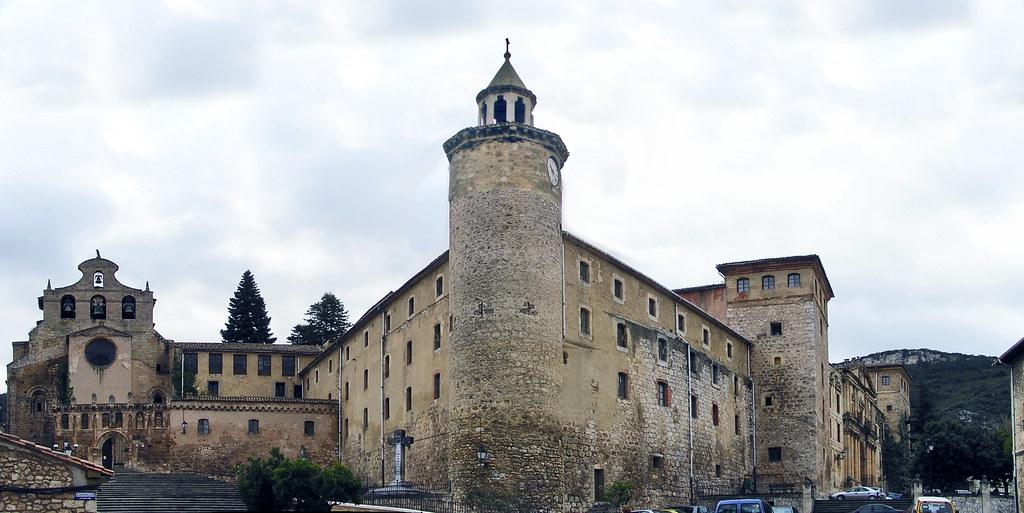 Burgos Oña torre Monasterio de San Salvador 01