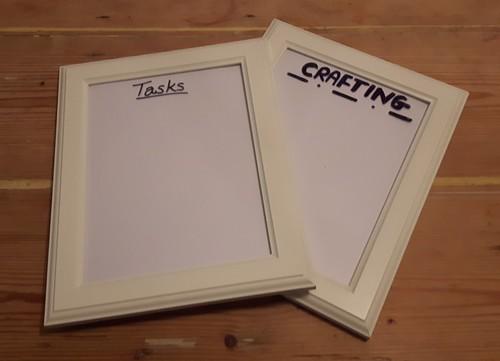 Framed lists - titling the frames
