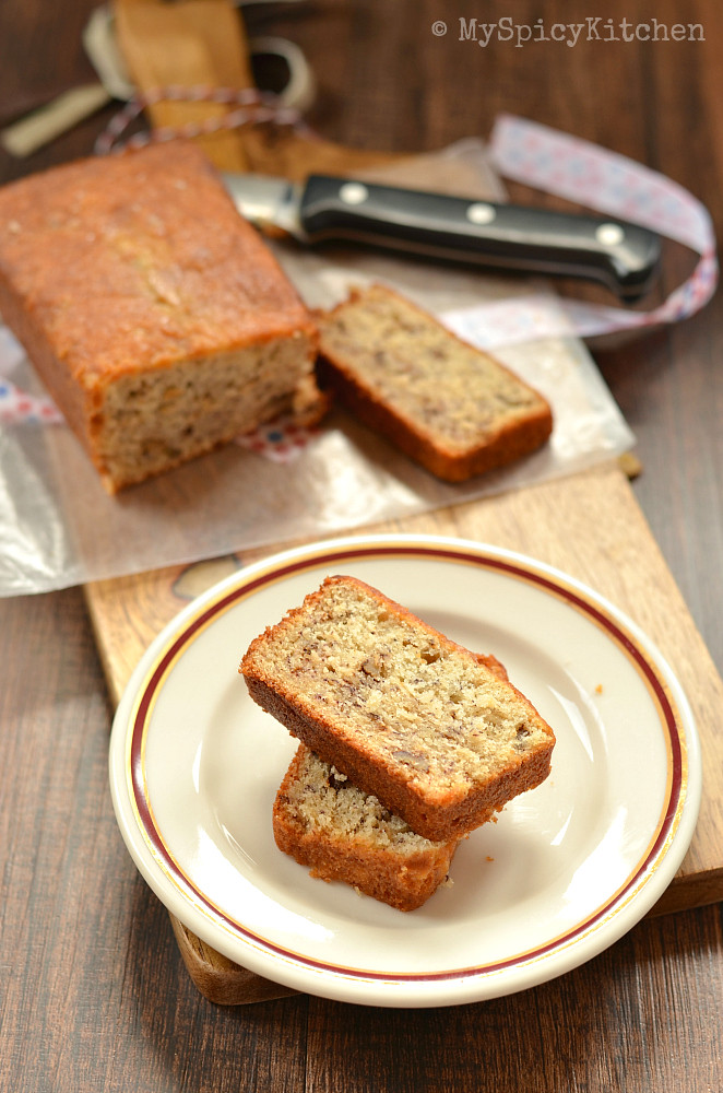 Banana Nut Bread, Banana Nut Bread with Sour Cream, Martha Stewart's Best Banana  Bread, Martha Stewart's Banana Nut Bread with Sour Cream, Bakeathon, Baking, Bakes with Ripe Bananas,