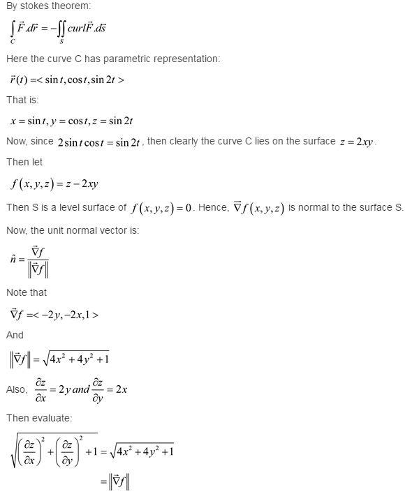 Stewart-Calculus-7e-Solutions-Chapter-16.8-Vector-Calculus-18E-1