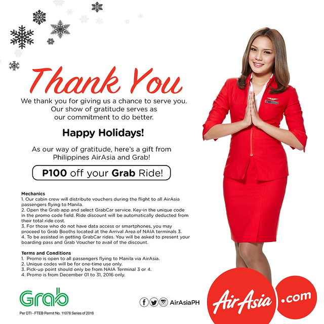AirAsia's Grab Car promo