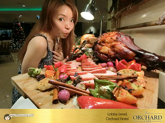 Orchard Hotel Orchard Cafe Christmas Buffet Tiffany Yong