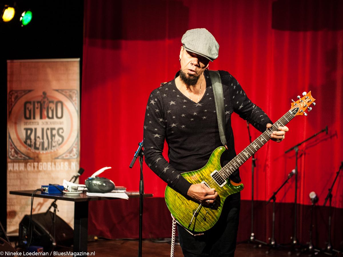 John Hayes - GitGo Blues Festival 2016-